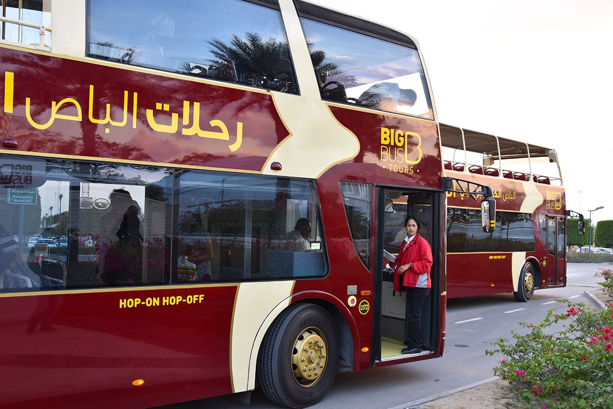Big Bus Tours in Abu Dhabi - Hop on Hop off bus