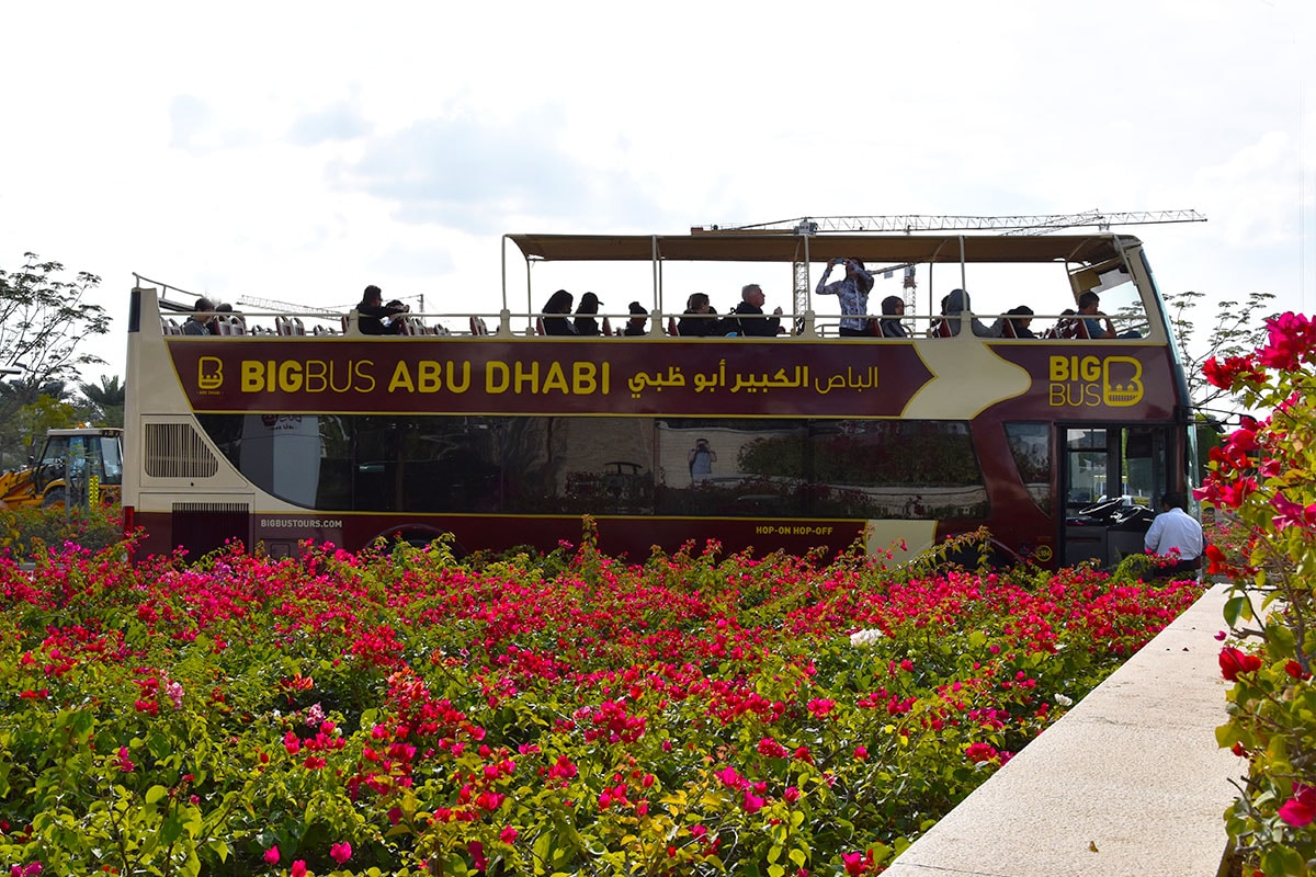 Big Bus Tours in Abu Dhabi - Hop on Hop off