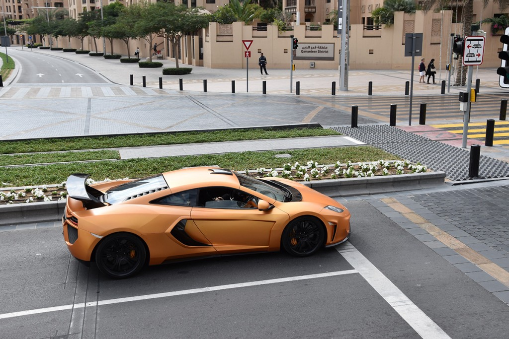 Autorijden in Dubai