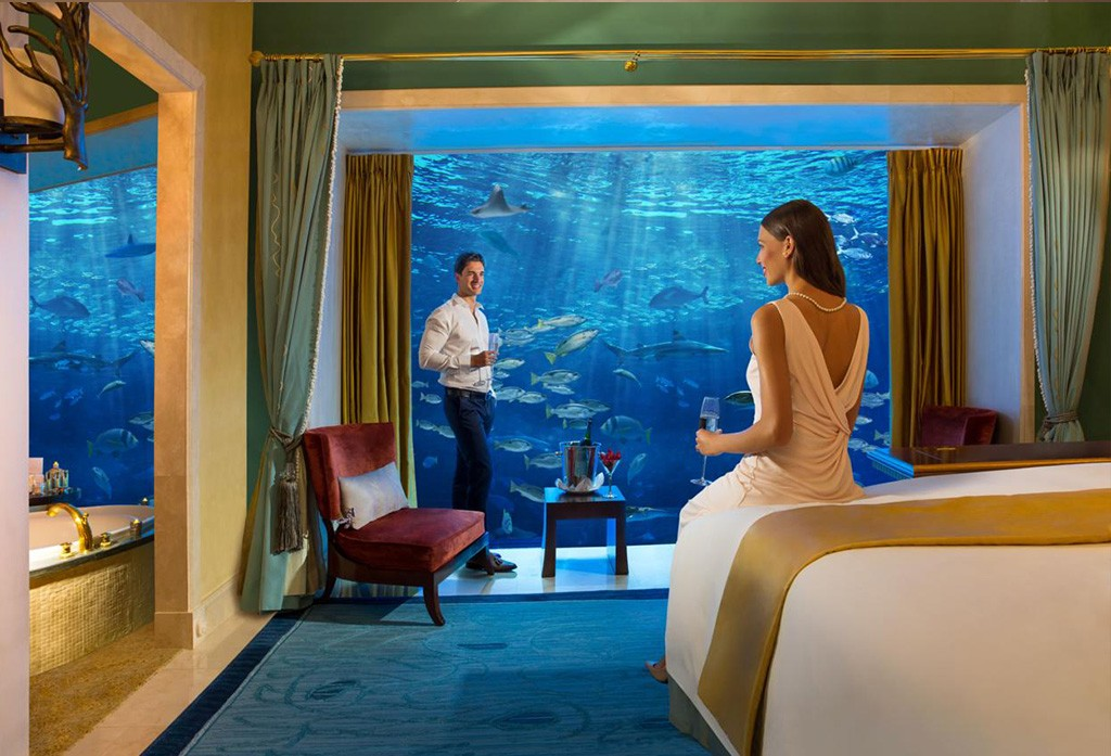 Het Atlantis the Palm hotel in Dubai