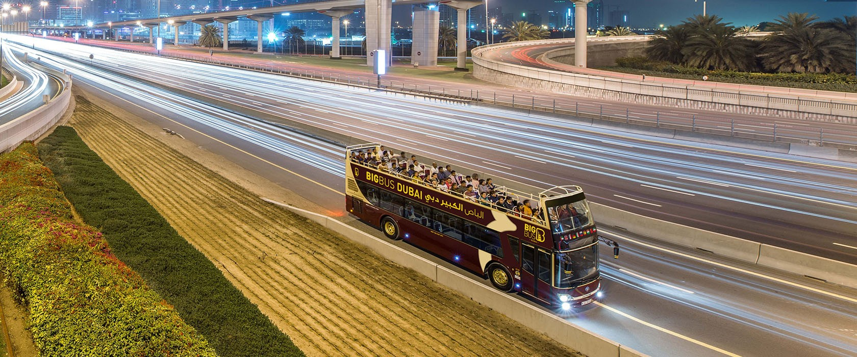 Dubai Big Bus Tours Night Tour