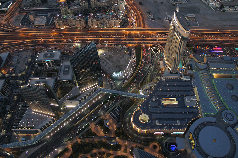 Burj Khalifa - At The Top Dubai