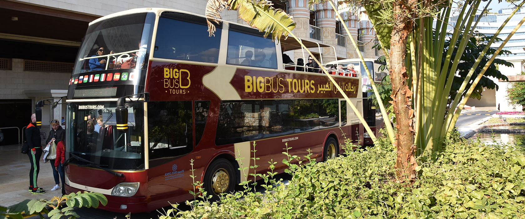 Dubai Big Bus Tours (Hop-on Hop-off Bus)