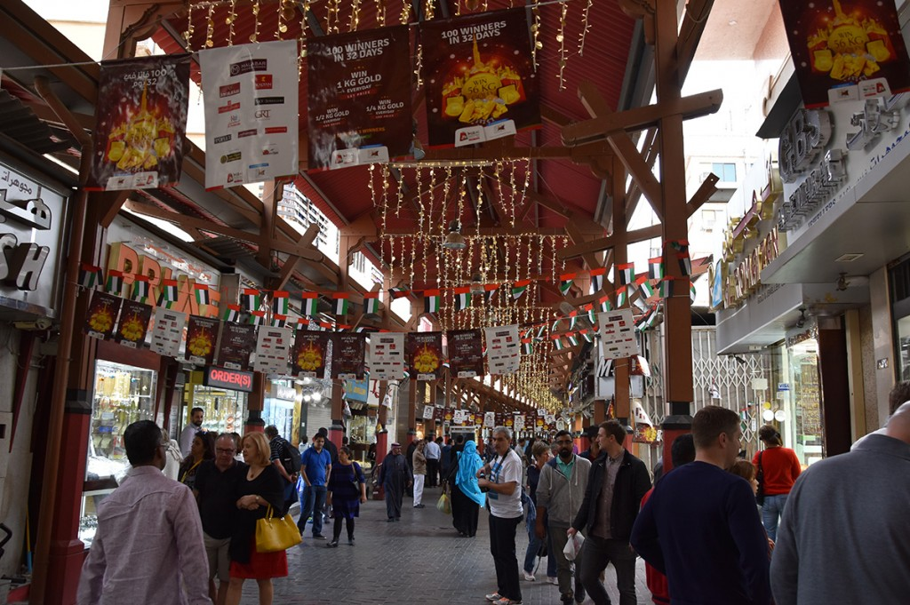 De Gold Souk in Dubai