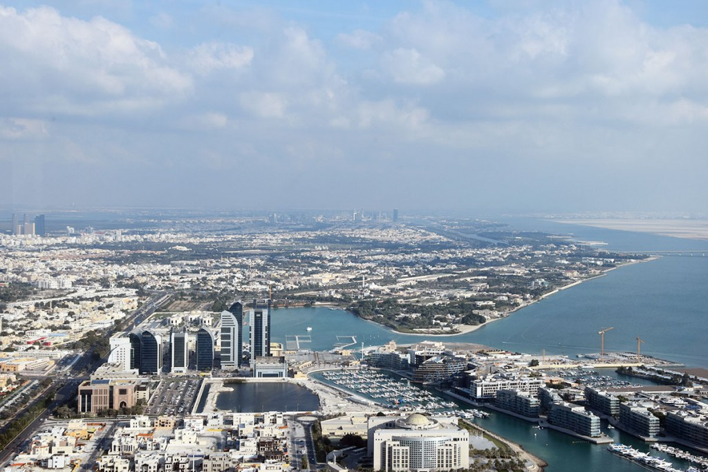 Observation Deck at 300 - Etihad Towers in Abu Dhabi