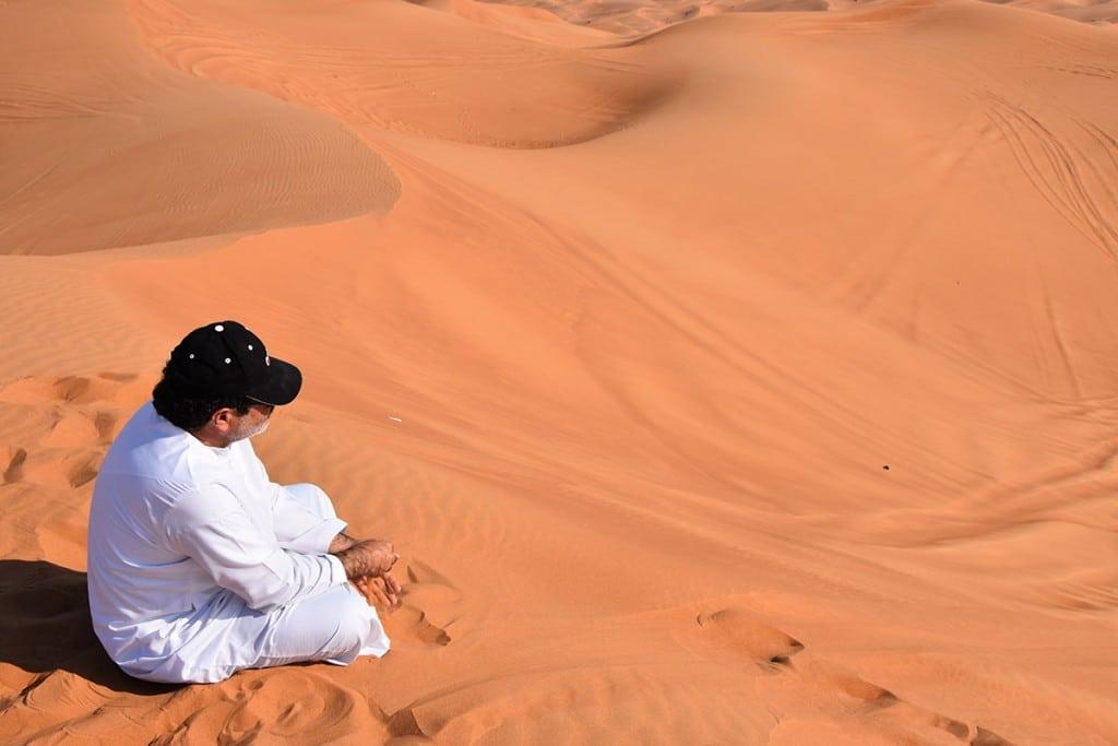 Ochtensafari woestijn Dubai