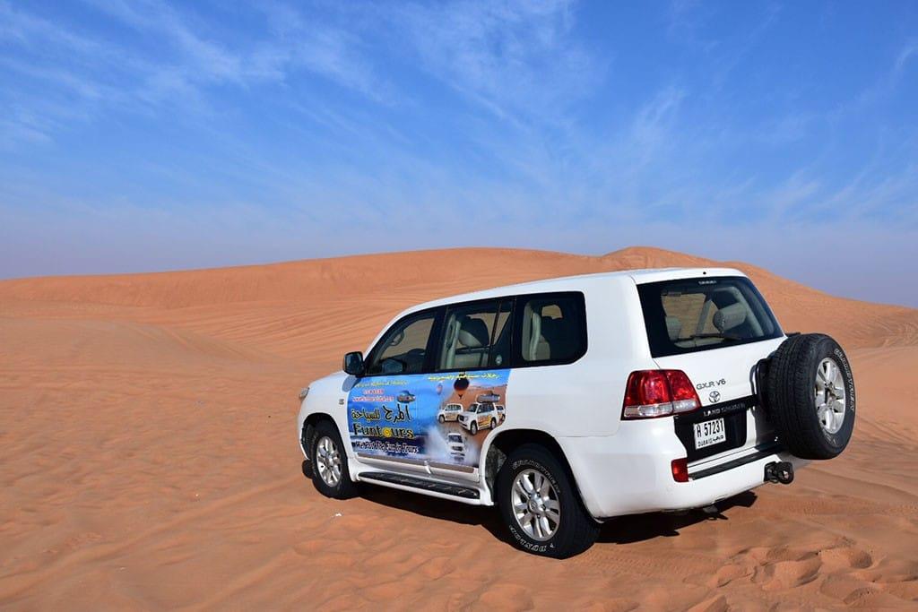 woestijnsafari