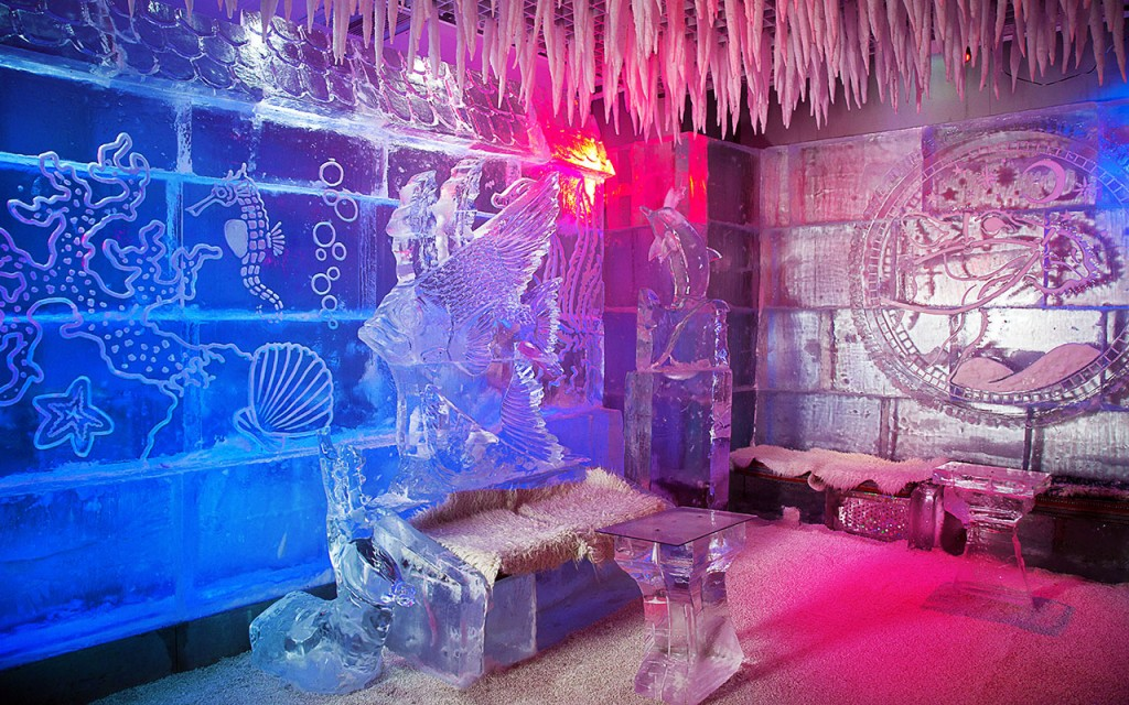 Chillout – The Ice Lounge in Dubai