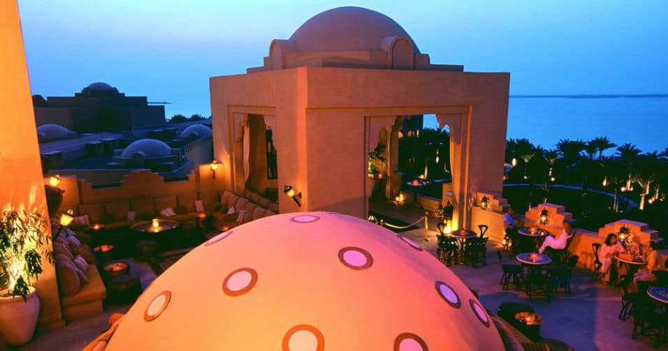 The Rooftop Terrace & Sports Lounge - The One&Only Royal Mirage