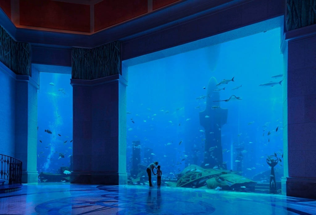 The Lost Chambers Aquarium in Dubai