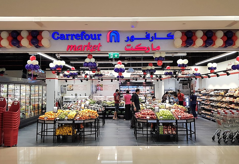 Supermarkten in Dubai