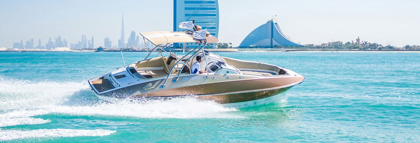 Privé sightseeing tour per luxe boot in Dubai
