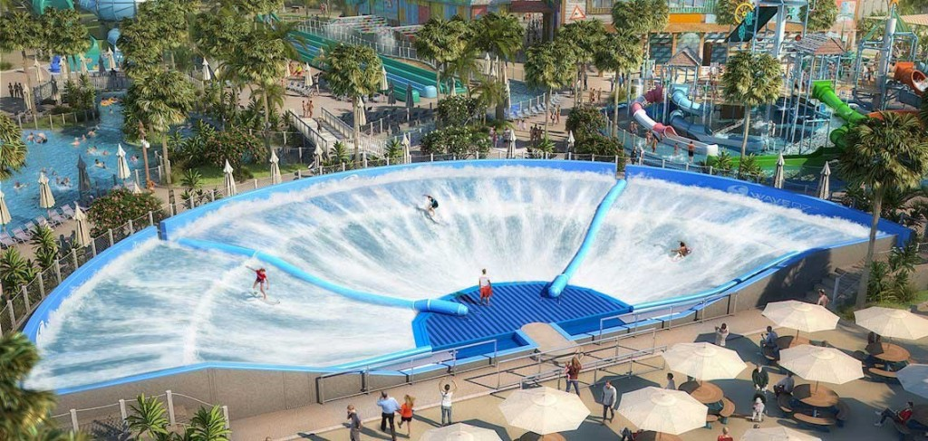 The WaveOz in het Laguna Waterpark in Dubai