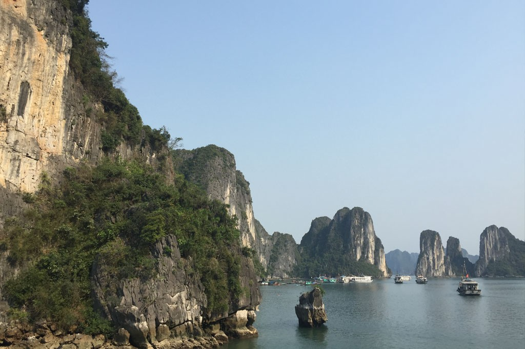 De Ha Long Bay in Vietnam