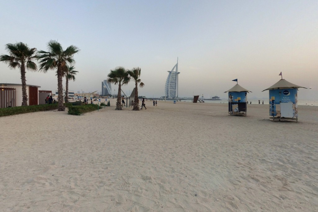 Umm Suqeim Beach in Dubai