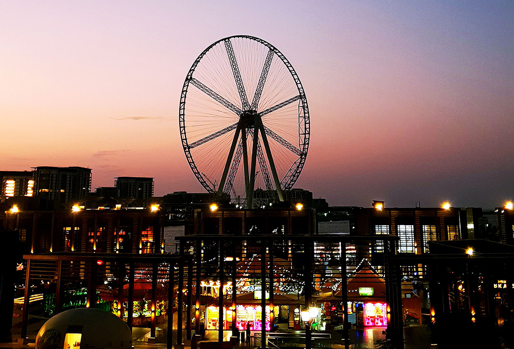 The Ain Dubai, the largest Ferris wheel in the world