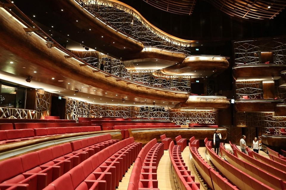 The Dubai Opera in Downtown Dubai