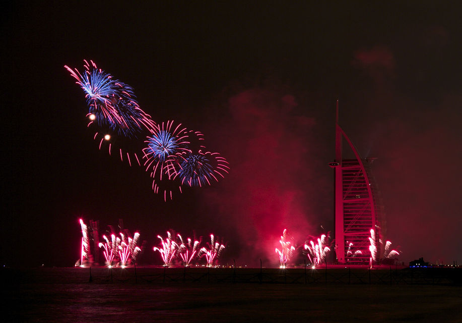 New Year's Eve in Dubai