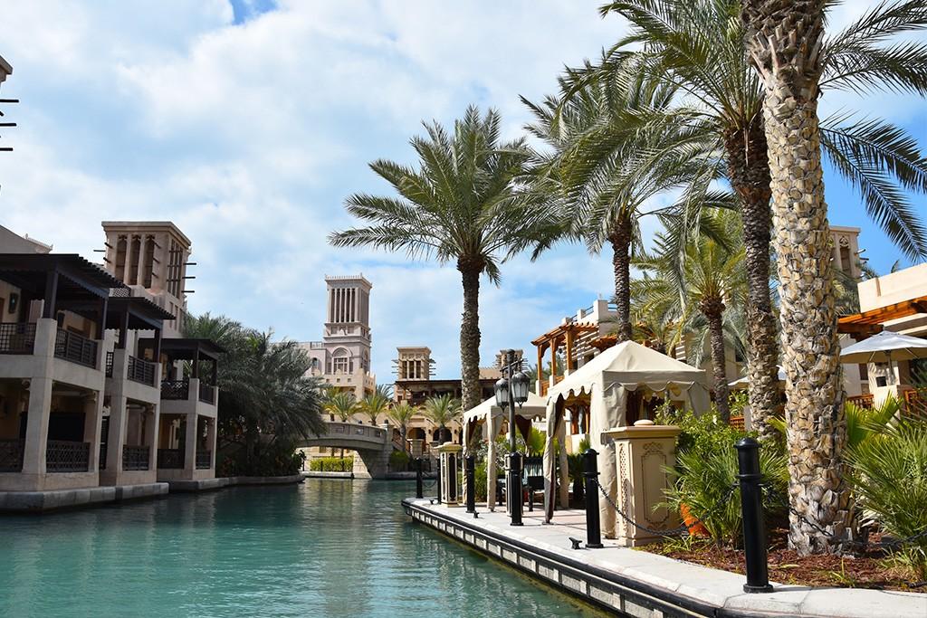 Het Jumeirah Mina A'Salam hotel in Madinat Jumeirah in Dubai