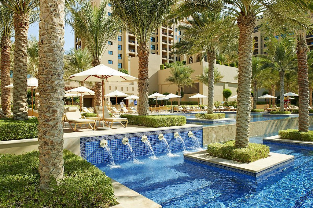 Fairmont The Palm hotel in Dubai
