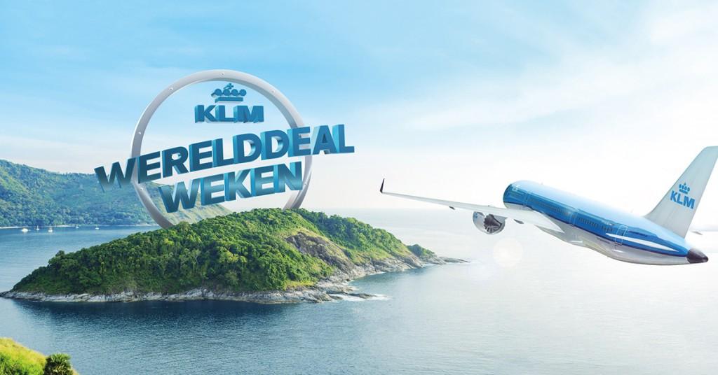 De KLM werelddeal Weken
