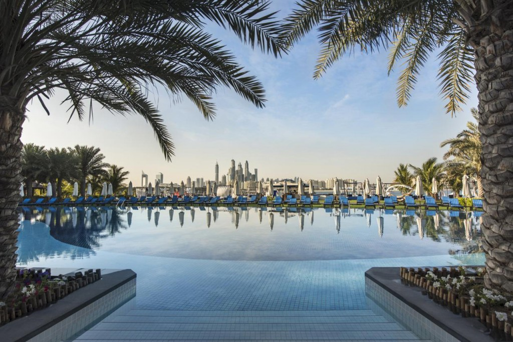 Het Rixos the Palm hotel in Dubai