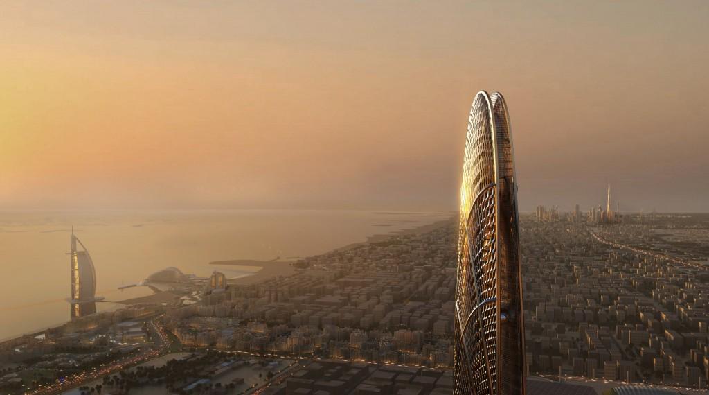 Burj Jumeira en Downtown Jumeira project in Dubai