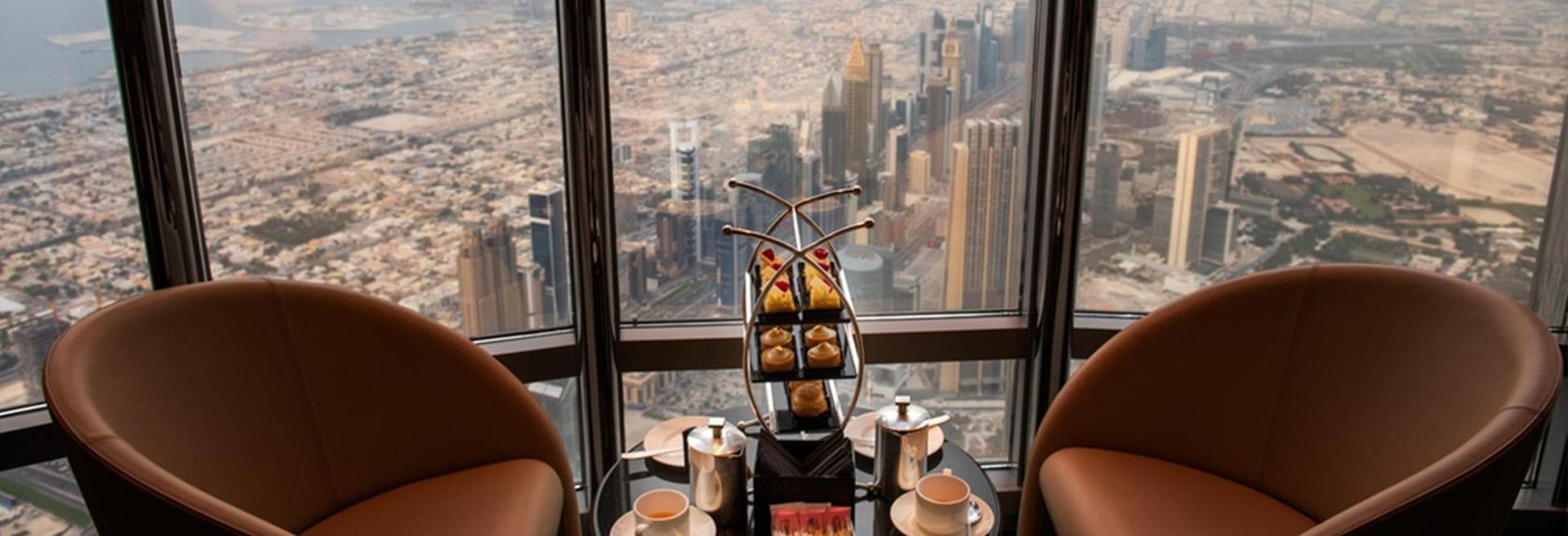 The Lounge Burj Khalifa – de hoogste lounge van de wereld