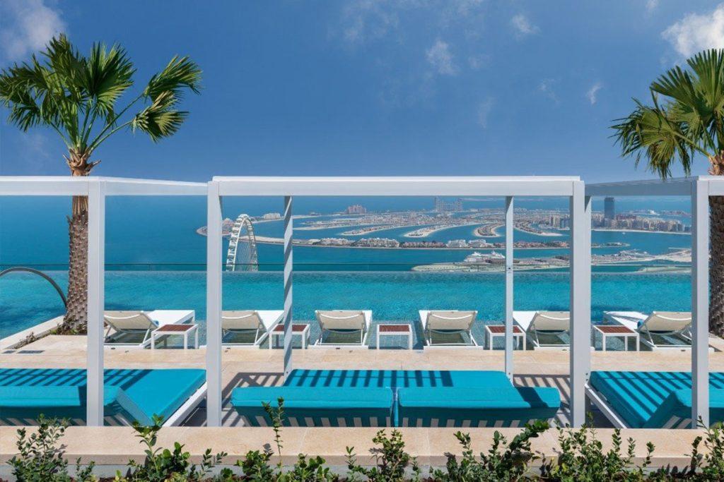 Het Address Beach Resort hotel in Dubai