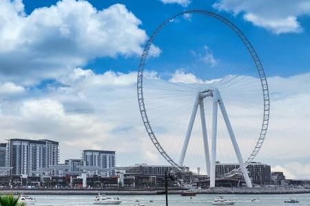 De Ain Dubai - het grootste reuzenrad van de wereld