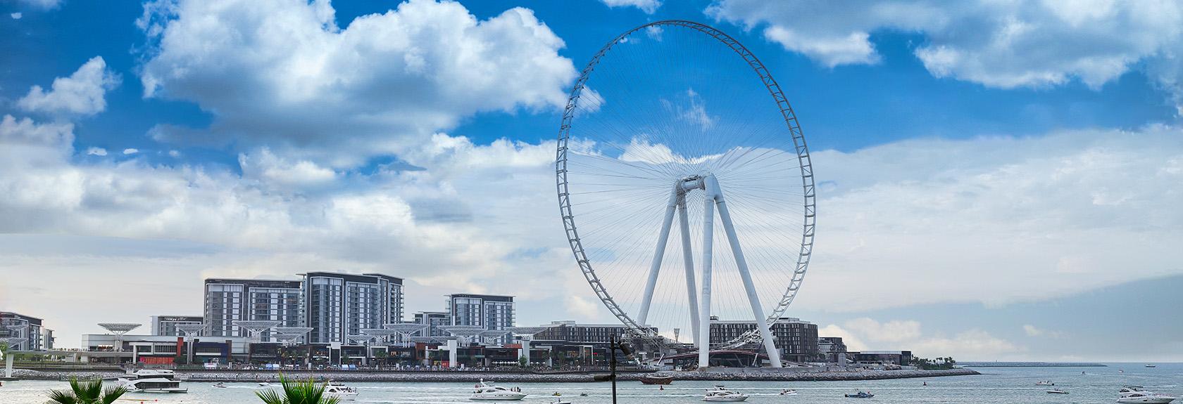 De Ain Dubai, het grootste reuzenrad van de wereld (opening 2021)