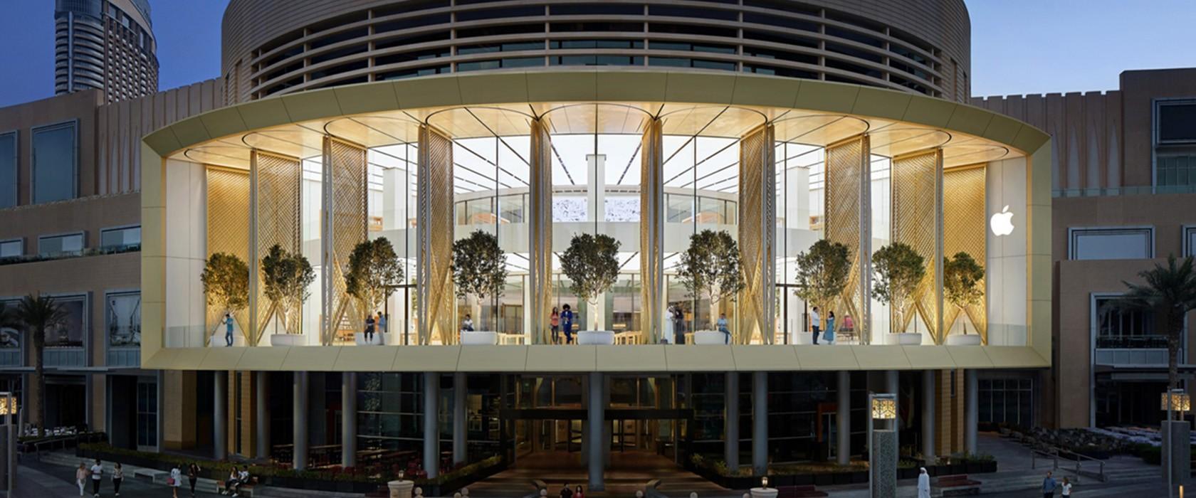 Grootste Apple Store ter wereld geopend in Dubai