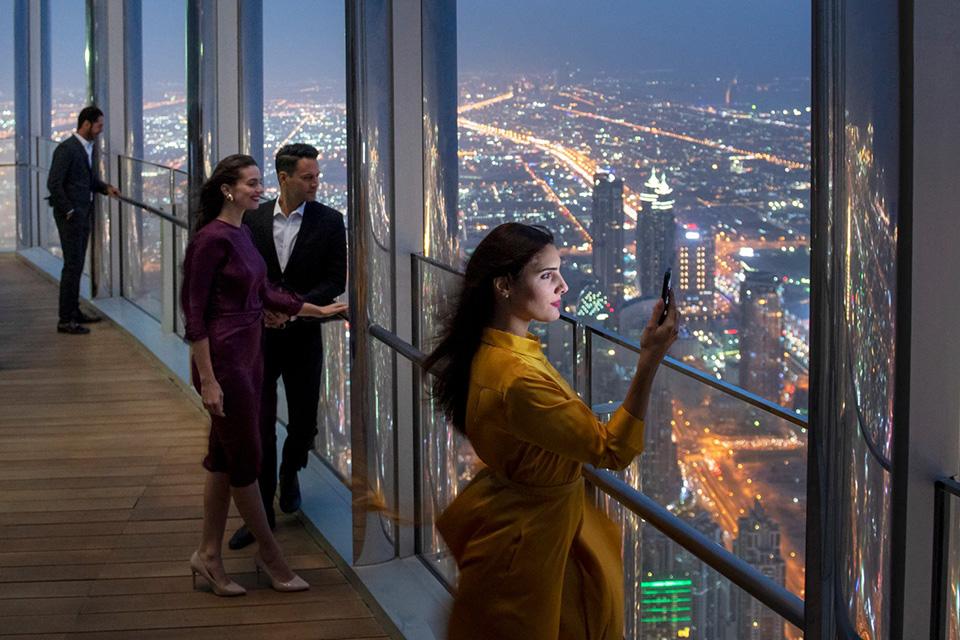 Burj Khalifa Lounge in Dubai