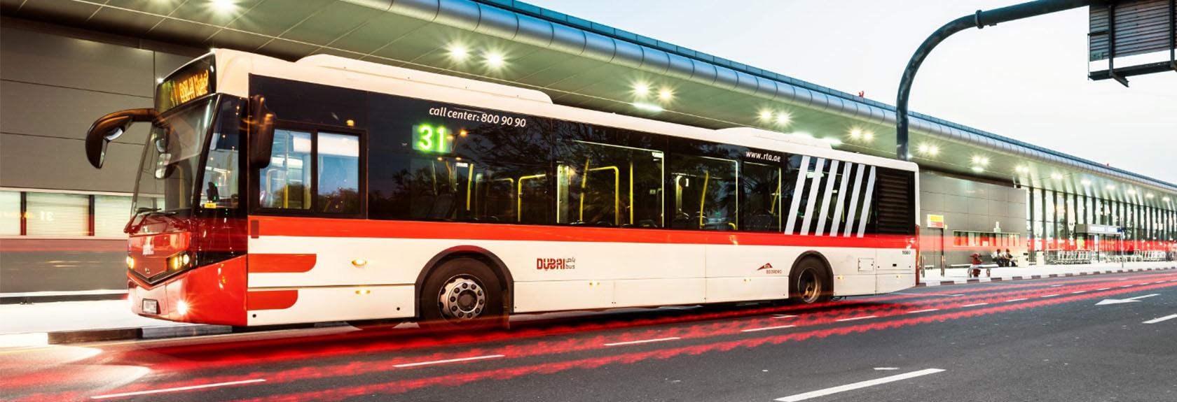 Bussen en buslijnen in Dubai