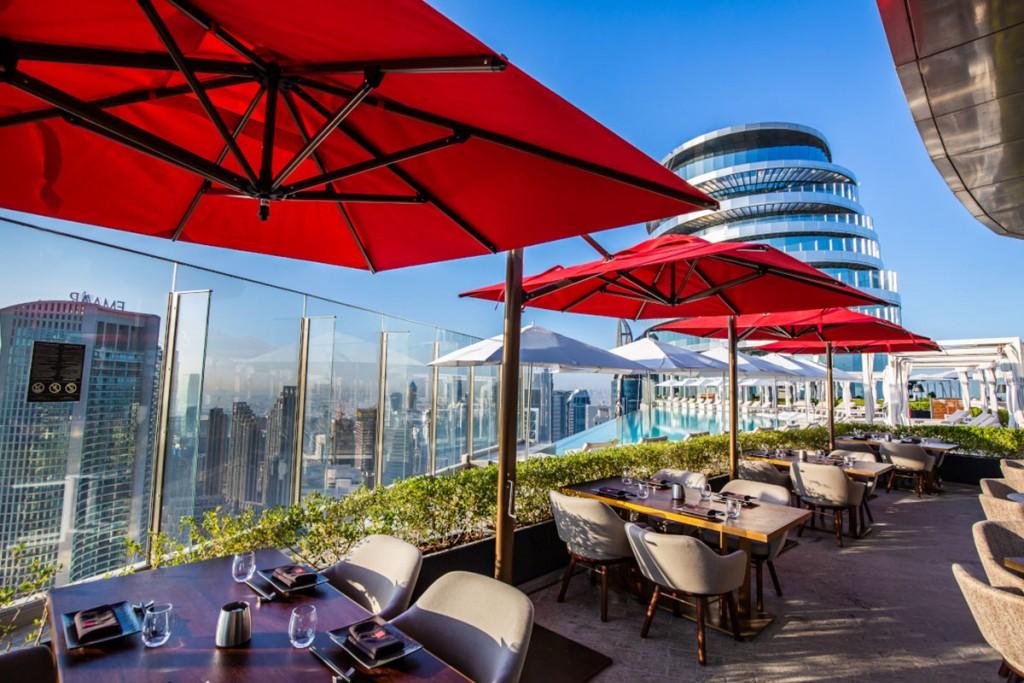 Cé La Vi Sky Bar in Dubai