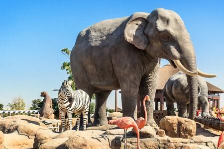 Dubai Safari Park - dierentuin in Dubai