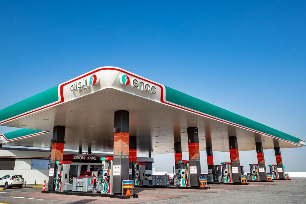 Tankstation in Dubai