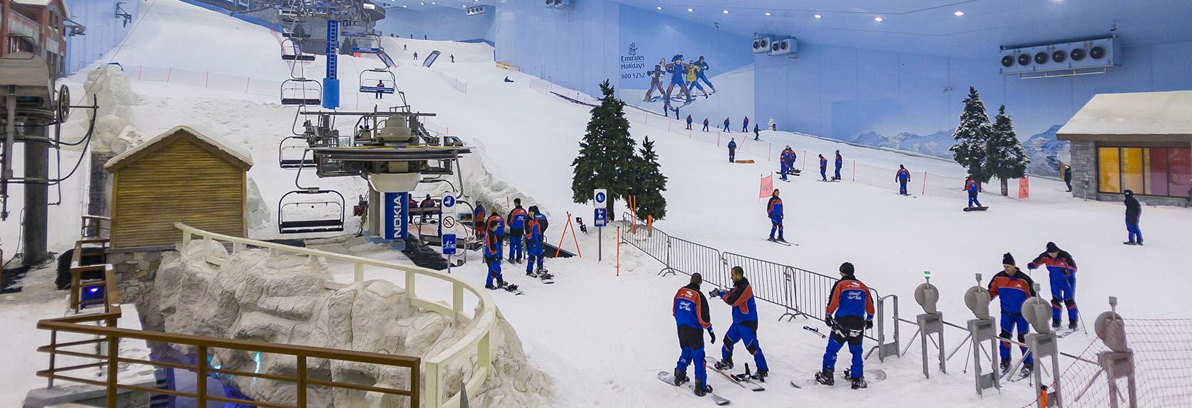 Tickets voor Ski Dubai