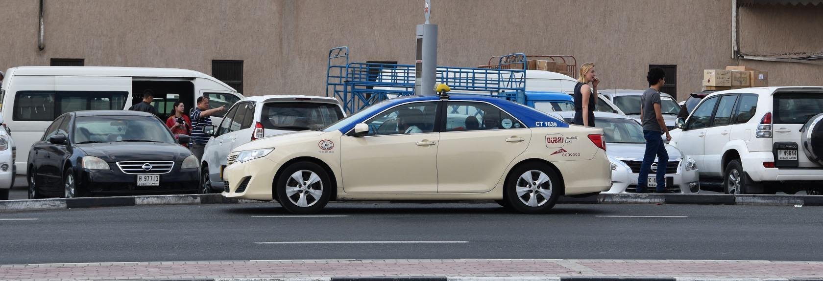 Taxi's in Dubai