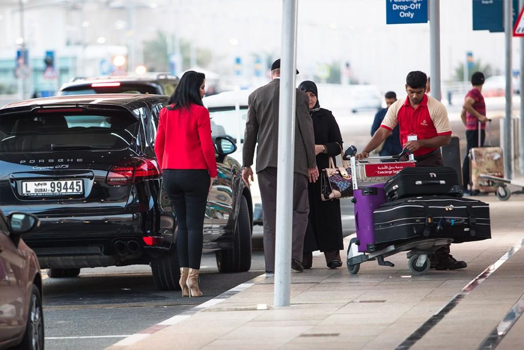 Taxi vliegveld Dubai