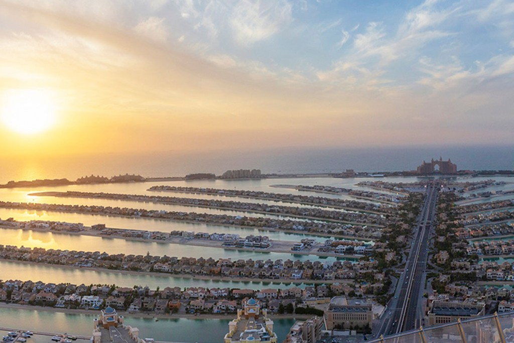 The View at the Palm op Palm Jumeirah in Dubai